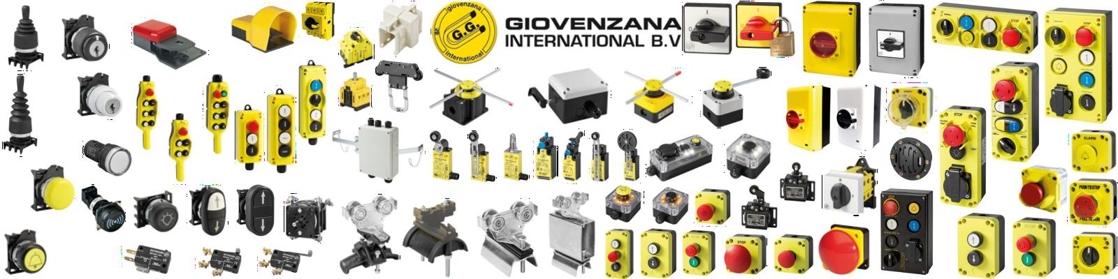 слайдер на Giovenzna, показващ избора от продукти