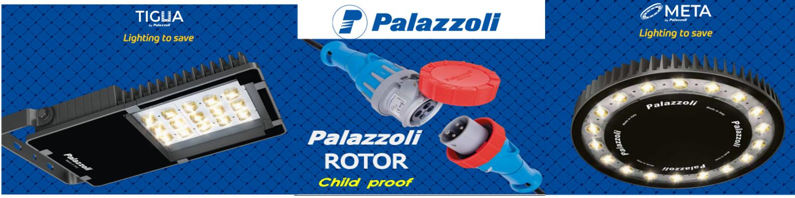 банер с продукти на италианския завод Palazzoli