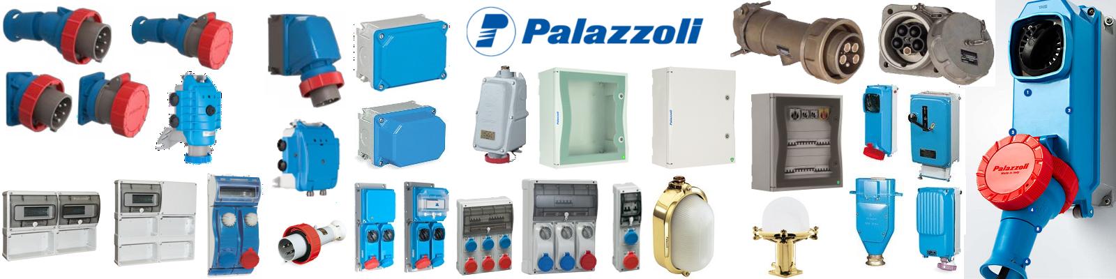 банер на италианския завод Палацоли с различни продукти