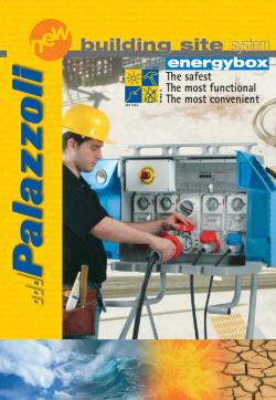 Palazzoli : EnergyBox system. Антивандални табла със заключващ механизъм