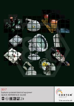Кратък каталог взривозащитено електрооборудване за 2017 г.