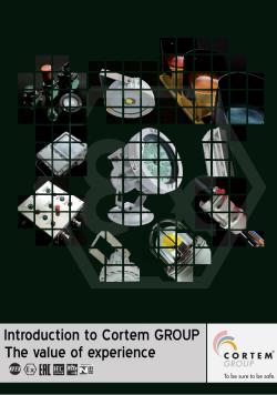 Кратко представяне на Cortem GROUP : Стойността на опита