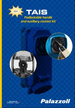 Брошура - TAIS контакти с блокировка и заключваща се дръжка + допълнителни контактни елементи