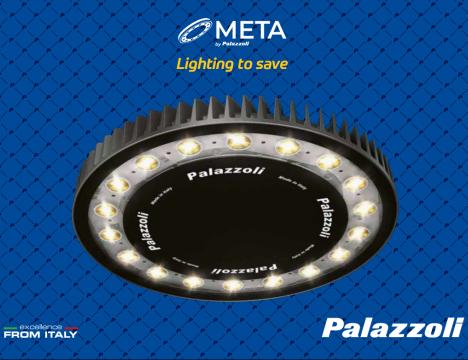Palazzoli : Каталог META LED - безопасно и мощно ЛЕД осветление за всяка необходимост