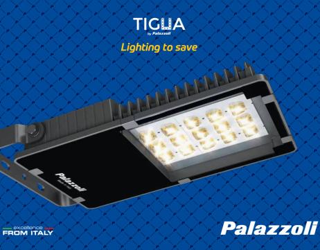 Palazzoli TIGUA LED - Професионално осветително тяло от най-висок клас