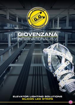 """Giovernzana International : Каталог """"Elevator lighting solutions"""""""