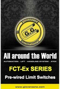 Giovenzana International B.V. - Взривозащитени крайни изключватели, серия FCT-Ex