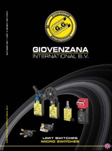 "Giovernzana International : Каталог ""Limit switches. Micro switches"""