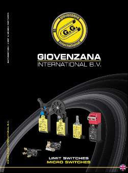 "Giovernzana International : Каталог ""Limit switches. Micro switches"""