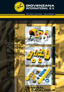 Giovenzana International : Генерален каталог Автоматизация, Контролна екипировка, Асансьорно електрооборудване