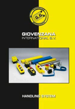 Giovenzana International - Каталог : Системи за управление