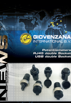 Giovenzana International : Каталог Потенциометри и устройства