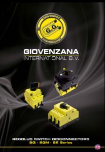 """Giovenzana International : Каталог пакетни прекъсвачи серия """"REGOLUS"""""""