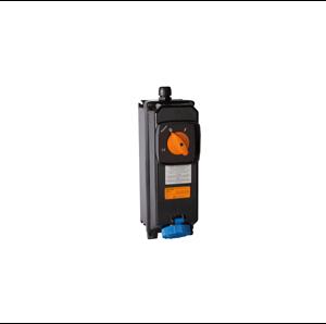 Взривозащитени индустриални контакти с механична блокировка. Произведени от GRP материал. 16А-32А-63А. IP66. ЗОНА 21-22. Серия TAIS-Ex