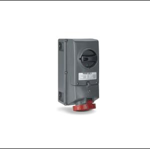 Взривозащитени индустриални контакти с механична блокировка и предпазител. 16А-32А-63А. IP66. ЗОНА 21-22. Серия ADVANCE-GRP