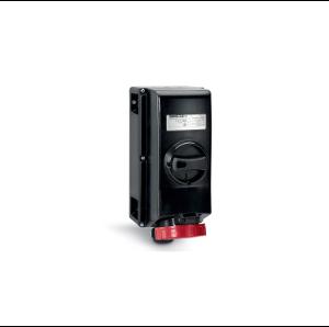 Взривозащитени индустриални контакти с механична блокировка, 16А-32А-63A-125A. ЗОНА 1-2 21-22. IP66. Серия ADVANCE-GRP
