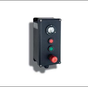 Взривозащитени контролни станции с корпус от GRP материал и винтчета от неръждаема стомана. 9 различни вида. Зона 1-2-21-22. Серия P...