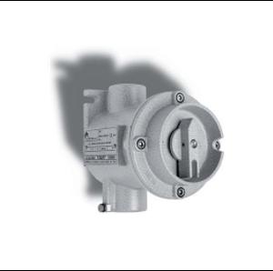 Взривозащитени ротационни изключватели с корпус от алуминиева сплав и винтчета от неръждаема стомана. От 25А - 63А. Зона 1-2-21-22. Серия EFSCO...