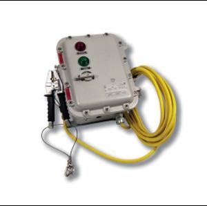 Взривозащитена електронна заземителна система с корпус от алуминиева сплав и винтчета от неръждаема стомана. Зона 1-2-21-22. Серия GRD 4200...