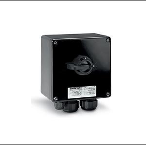 Взривозащитени краен прекъсвач с корпус от GRP материал. За обща употреба. IP66 Зона 2-21-22. Серия Isolators-Ex