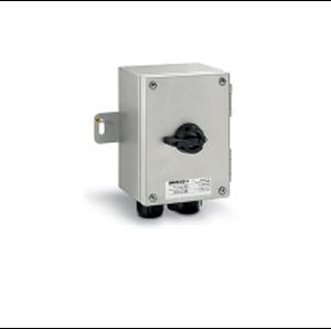 Взривозащитени краен прекъсвач с корпус от неръждаема стомана AISI316L. За обща употреба IP66 Зона 2-21-22. Серия Isolators-Ex