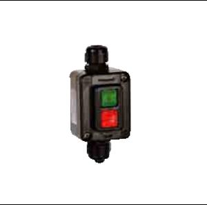 Взривозащитени бутони СТАРТ-СТОП с корпус от GRP материал. IP66 Зона 2-21-22. Серия Tais Mignon-EX