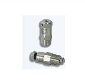 Взривозащитени изпусквателни и отводнителни клапани Зона 1-2-21-22. Серия ECD. Различни резби.