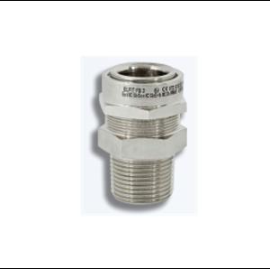 Взривозащитени бариерни щуцери за неброниран кабел. Зона 1-2-21-22. Серия FB. Различни резби и материал на щуцера.