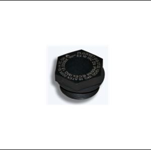 Взривозащитени тапи от полиамид с цилиндрична резба. Зона 1-2-21-22. Серия PLG.