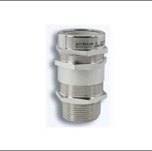 Взривозащитени щуцери за брониран кабел. Зона 1-2-21-22. Серия REVD. Различни резби и материал на щуцера.