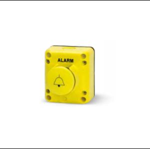 "Алармен бутон с бутон тип ""Гъба"". С един контактен елемент NO. Ø 40. Серия TLP.."