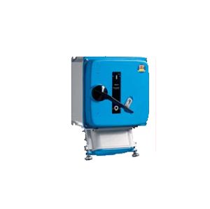 """Пожароустойчиви контакти, серия """"TUNNEL54"""".  Контакт с блокировка, предназначен за захранване на тунелни вентилатори до 117kW. Издържат до 400°С за 120 минути. 50-60 Hz, IP66, 63А-125А."""