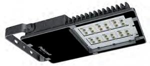 LED осветителен прожектор, серия TIGUA LED с аксиално симетрично осветление и напречна симетрична оптика PS1 IP66. От 5220 lm до 54 810 lm.