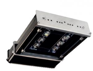 LED осветителен прожектор, серия T54 с аксиално симетрично осветление и напречна симетрична оптика PS1 IP66. От 5 220 lm до 15 660 lm.