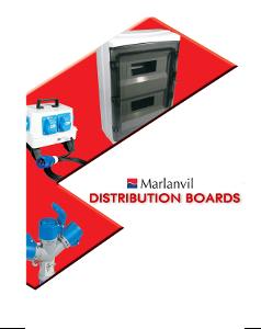 Marlanvil - Каталог разпределителни табла и кутии
