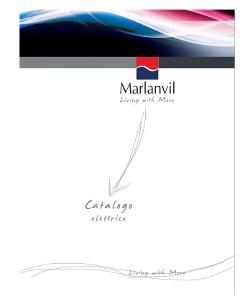 Marlanvil - Основен каталог електроинсталации