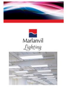 Marlanvil - Каталог индустриално ЛЕД осветление