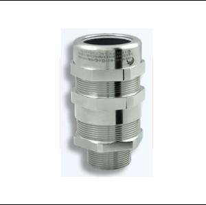 Взривозащитени щуцери зона 1-2-21-22, серия NEVP. Предназначени за брониран кабел с оловна обшивка. Различни размери, резби и материал
