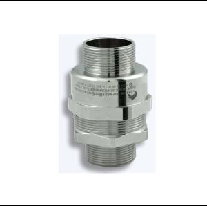 Взривозащитени щуцери зона 1-2-21-22, серия NAVN. Предназначени за неброниран кабел. Различен вид резби, различен материал на щуцера. Щуцерът е с мъжки вход.